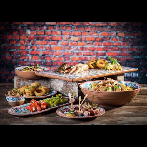Melamine Dishes Arabesque Line