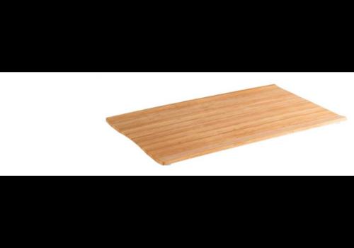 HorecaTraders Melamine Serving tray 3 Formats Bamboo Line