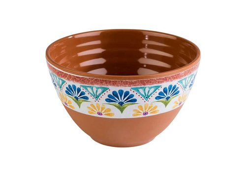 HorecaTraders Melamine Serving bowl | 2 Formats Arabesque Line