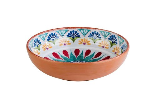 HorecaTraders Melamine Serving Dish | Arabesque Line | 2 formats