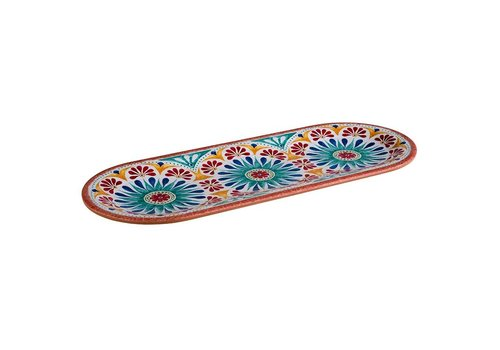 HorecaTraders Melamine Serving Dish | Arabesque Line