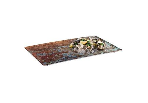 HorecaTraders Melamin Servierplatte | 4 Formate Aquaris Line