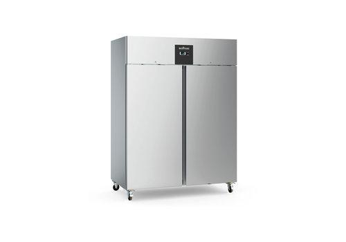 Ecofrost Horeca Freezer cabinet Stainless steel | Heavy Duty | 1300L