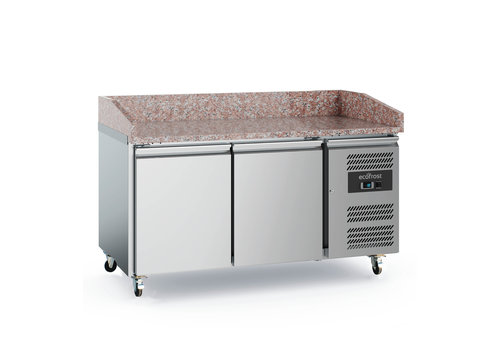 Ecofrost Pizza workbench Stainless steel | 390L | 2 doors