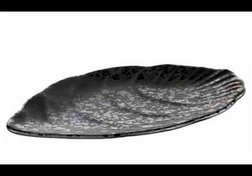 HorecaTraders Melamine Serving tray Glamor Oval   2 formats