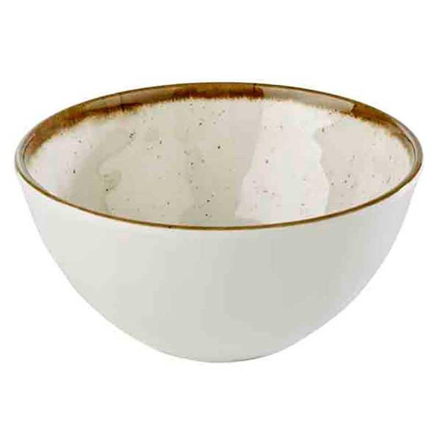 Witte Melamine Schaal | Stone Art Line | 15,0 Ø