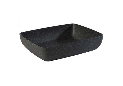 HorecaTraders Melamine Schaal GN 1/2 | 32,5x26,5x(h)7,5 cm | 4 Liter