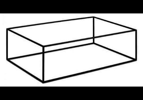 HorecaTraders Metalen Plateau Standaard | Frida Line | 2 Formaten