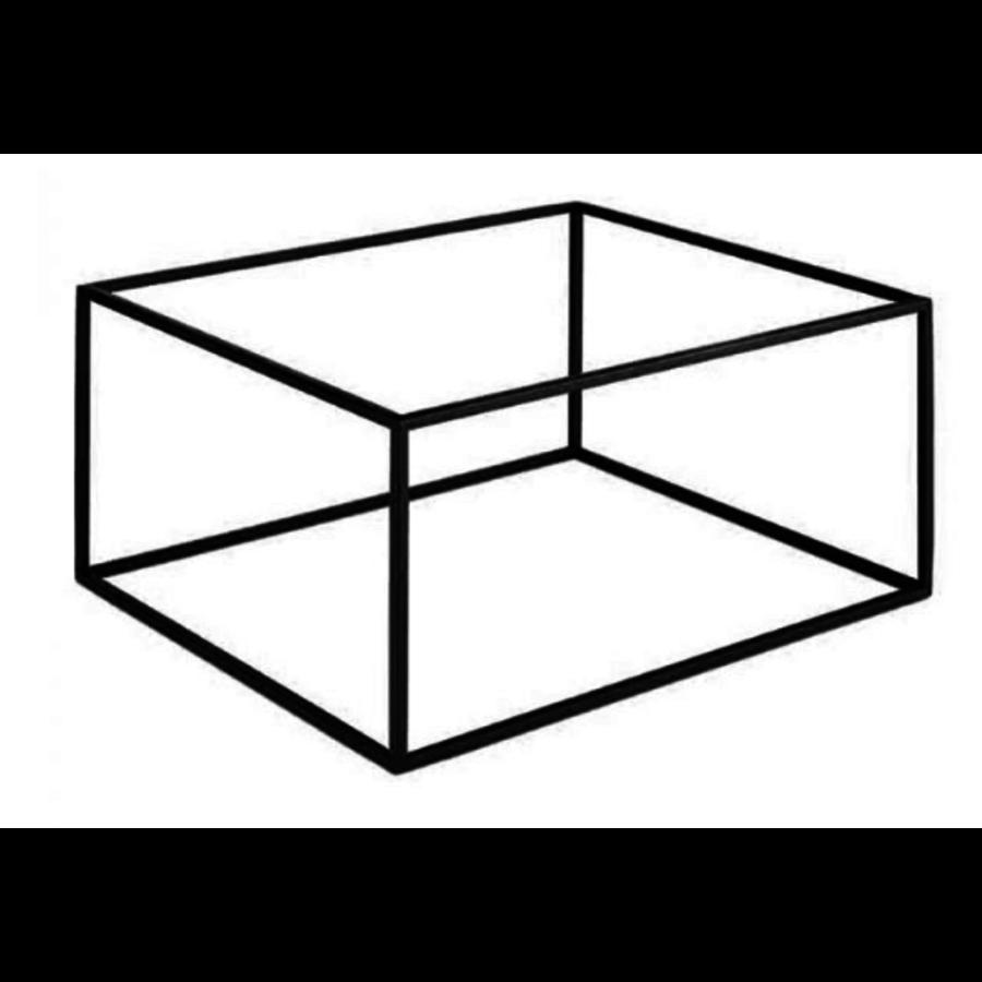 Metalen Plateau Standaard | Frida Line | 2 Formaten