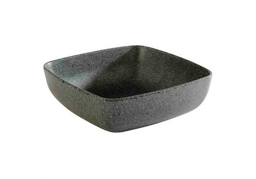 HorecaTraders Melamine Schaal | 16,5x16,5x(h)5,5 cm | 0,85 Liter