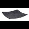 HorecaTraders Melamine Serveerplateau | 14 cm x 14 cm | Dark Wave Line