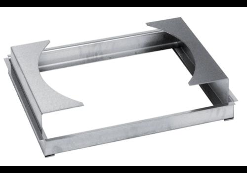 Hendi Wok Holder Stainless steel