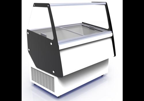 Combisteel Ice cream display case Ibiza | 8 x 5 liters