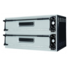 Combisteel Stainless Steel Double Pizza Oven | 2 X 2 Pizza