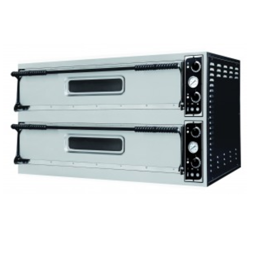 Stainless Steel Double Pizza Oven | 2 X 2 Pizza