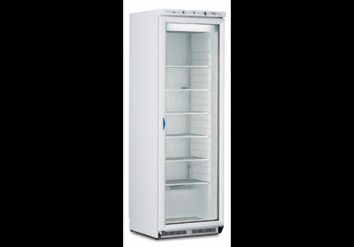 Freezer with Glass door ICE PLUS N40 White | Framec
