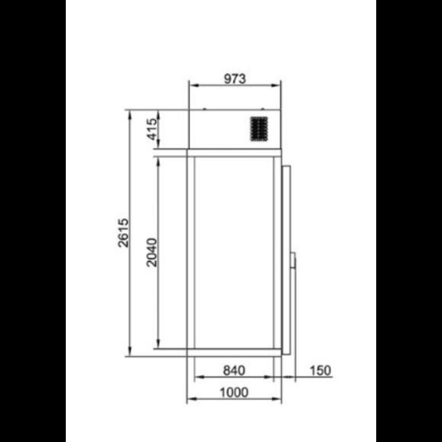 Mini Vriescel Met Unit | 230 V