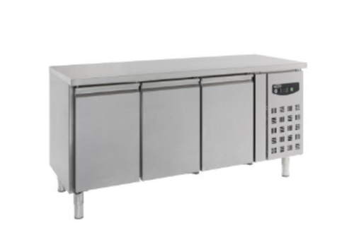 Combisteel Cooling bench 3 doors | Right engine | Stainless steel