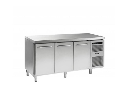 Gram Stainless steel freezer workbench 3 doors | Grams GASTRO 07 F 1807 CSG A DL / DL / DR L2 | 506L