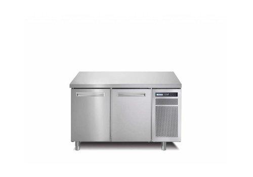 Afinox RVS Vrieswerkbank | 2 Deurs | SPRING 702 I/A BT | 130x70x(H)90cm | Met/zonder Werkblad