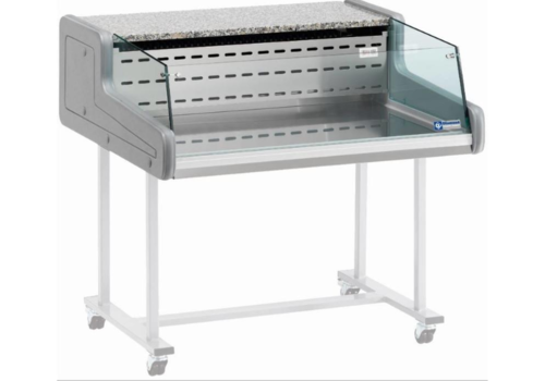 Diamond Showcase Counter | Chilled + 4 ° C / + 6 ° C | Self-Service 1500x930x (H) 346mm