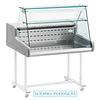 Diamond Gekoelde vitrinetoonbank | recht frontglas 1000x930x(H)660 mm