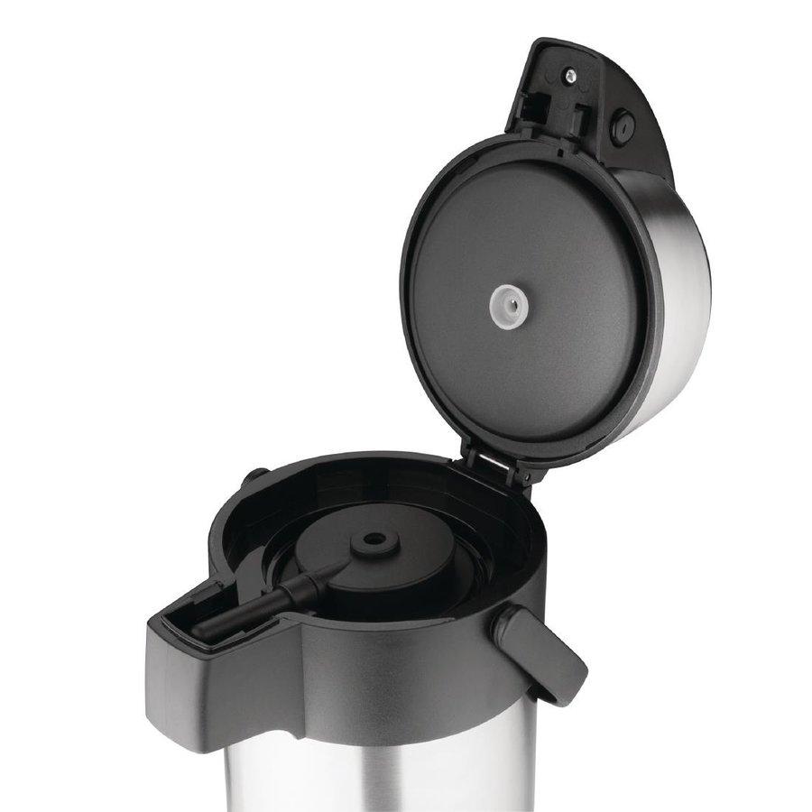 Thermoskanne mit Pumpe | 3L | Heißes Wasser