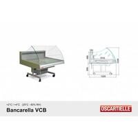 Koeltoonbank   BANCARELLA SELF 125   Self Service   Hoge Glasopbouw   128,8x122x(H)103cm