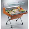 Oscartielle Refrigerated Counter With Glass Structure | Self Service | Ready to plug | 126.2x84x (H) 90.5 cm
