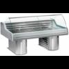 Diamond Vitrine Toonbank Vis   Werkblad Graniet   Gekoeld 0 / +2 ºC   150x119,5x(h)117,5cm