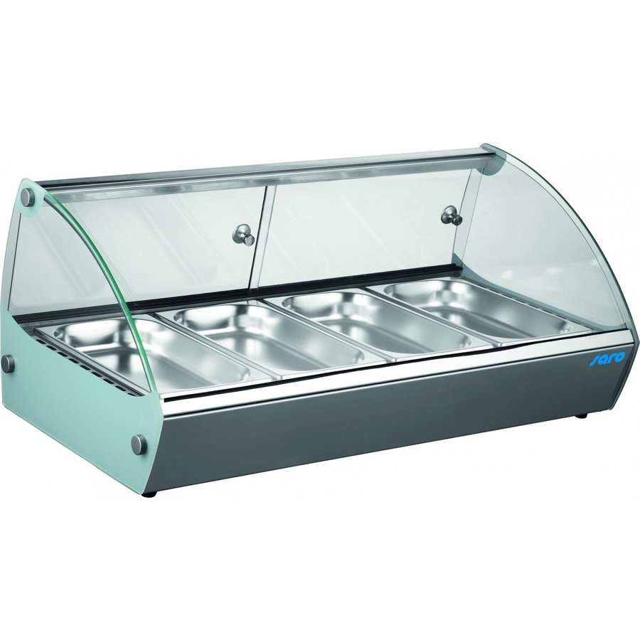 Keeping display case 6x 1/3 GN | Stainless steel
