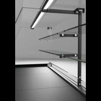 Toonbank Metrika Line Zwart | 89x(h)118,2cm | 6 Formaten
