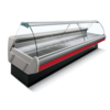 Arneg Koeltoonbank met Verlichting | Marmeren Werkblad | DALLAS/3 VC 1250 | 133x114,5x(H)125,6cm