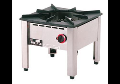 Diamond Low gas burner 50x50xh45 cm
