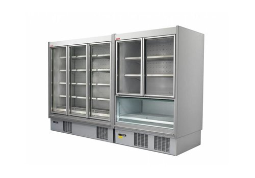 Oscartielle Wall freezer Hinged glass doors | Ready to plug (2 formats)