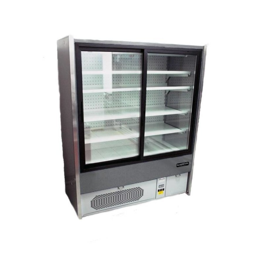 Wall cooling 4 floors + 1 / + 10 ° C | 1480W | 2010x700x1985 (h) mm