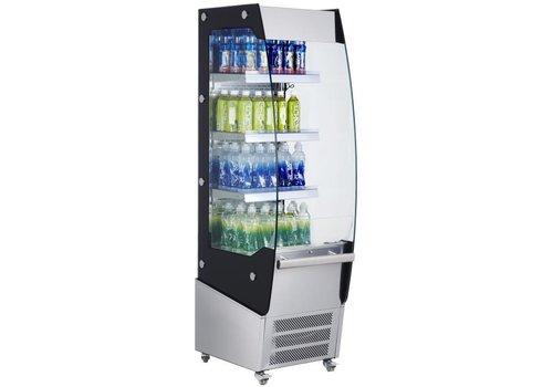 Saro Kühlvitrine mit Rädern - Modell für alkoholfreie Getränke