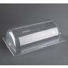 HorecaTraders Olympia polycarbonate rolltop lid GN 1/1