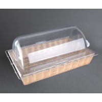 Olympia polycarbonate rolltop lid GN 1/1