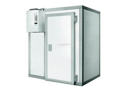 Combisteel Freezer cell Stainless Steel Floor | 196x316x220 cm