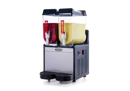 Combisteel Slush Machine | Stainless steel 2 x 12L
