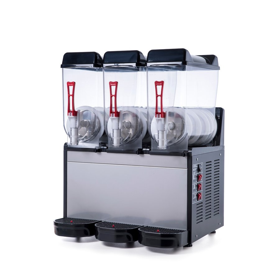 Slush Machine | Rostfreier Stahl 3 x 12 l