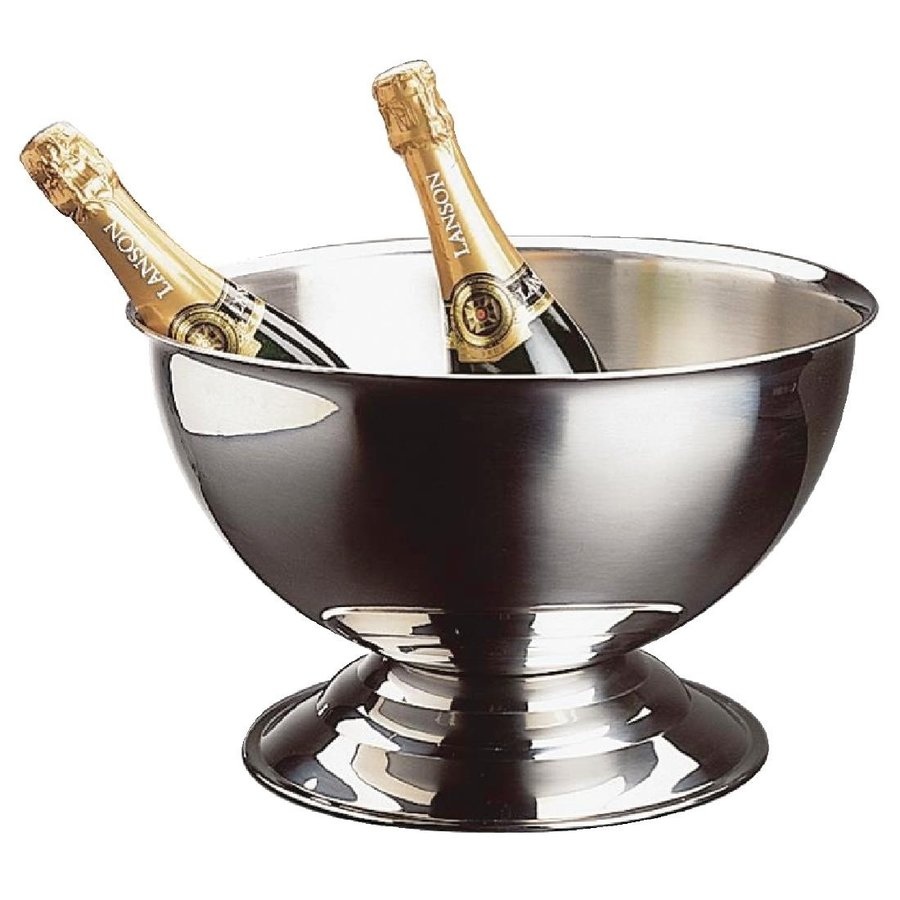 Stainless steel champagne bowl
