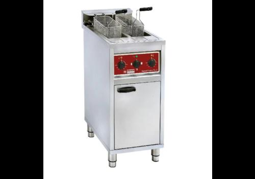 Diamond Elektrische friteuse | 2x 10 liter | Op kast