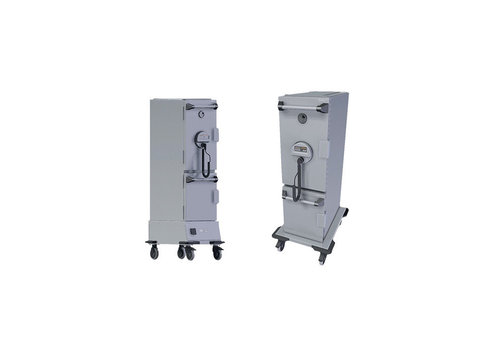 Rieber 3000 Hybrid | kühl / warm halten Geeignet für GN 1/1 20 cm | 70 Liter warm / 44 Liter kalt