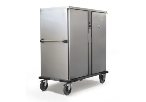 Rieber Double Banquet trolley Light 2 x 2/1 GN heated | 2400W | 149x83.7x (H) 167.4 cm | 11 or 18 GN2 / 1 Schedules