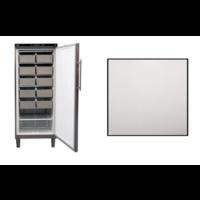 Static Freezer Stainless Steel | 513 liters | 75x76x (H) 186.4-192.5 cm