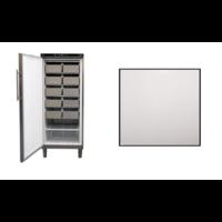 Gefrierschrank Edelstahl | 513 liter | 75 × 76 × (H) 186,4–192,5 cm