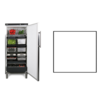 Rieber Storage fridge | White | 583 liters | Suitable for 1 / 1GN | 750x750x (H) 1864/1925 mm