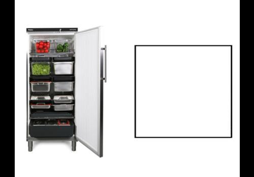 Rieber Lagerkühlschrank | Weiß | 583 Liter | Geeignet für 1 / 1GN | 750 x 750 x (H) 1864/1925 mm